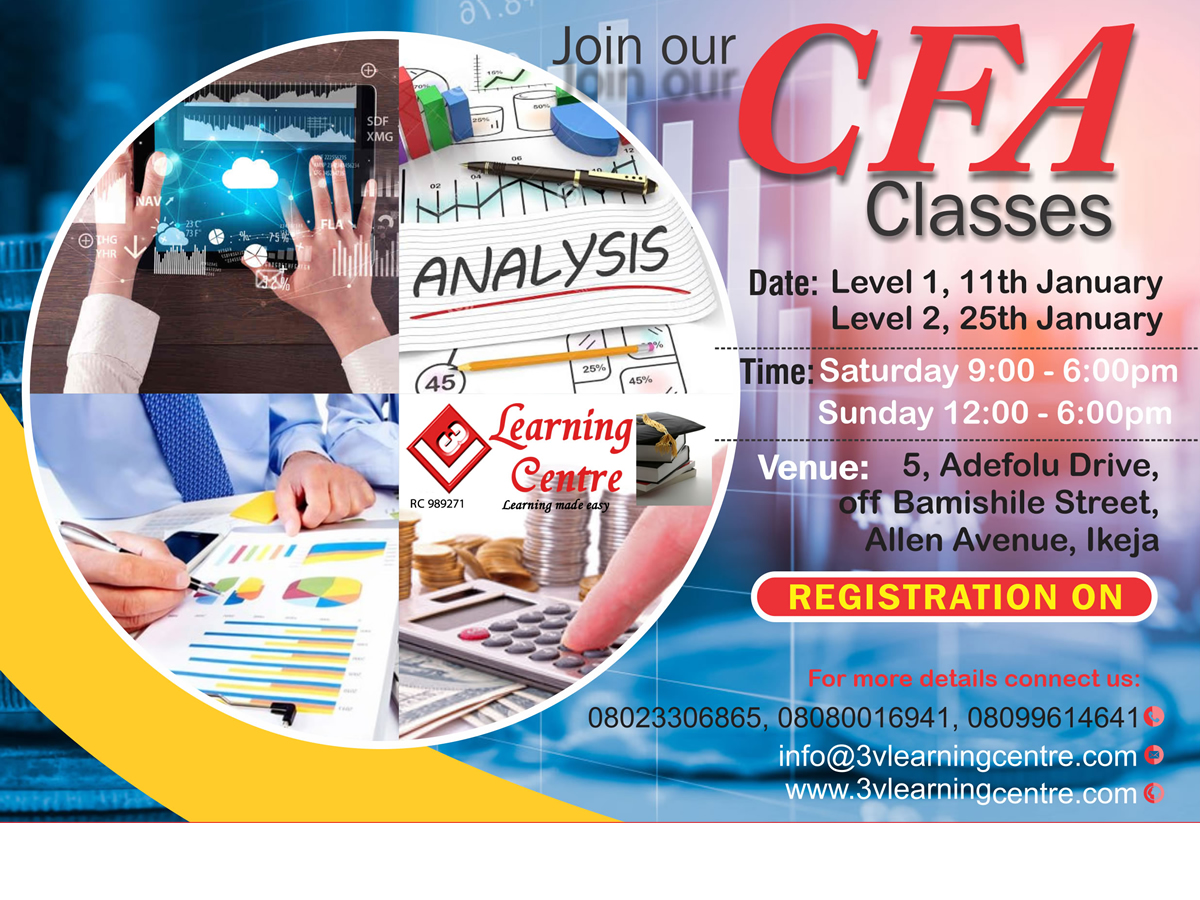 Join CFA Classes for June
